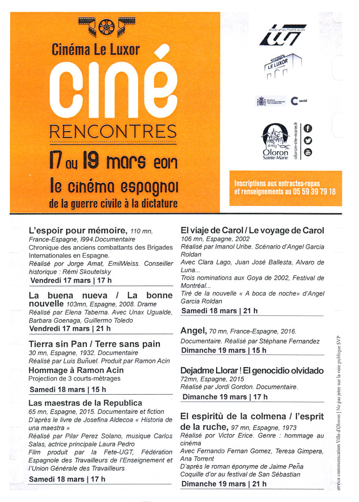 Cine-rencontre 2017