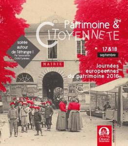 Journée patrimoine 2016