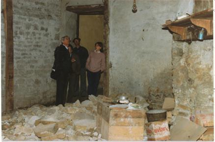 Il y a 30 ans... aménagement de la Maison du Patrimoine