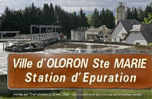 Visite de la station d'épuration d'Oloron-Sainte-Marie. Pour plus de photos suivre le lien