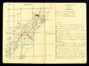 Préparation de l'attaque du 24 octobre 1916. JMO du 4e RMTZ-Mémoire des Hommes Ministère de la Défense